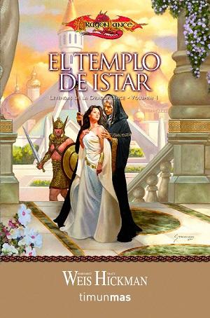 Novela romantica: Leyendas de la Dragonlance, de Margaret Weiss y Tracy Hickman