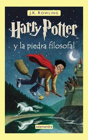 Novela de magia y fantasía: Harry Potter, de J. K. Rowling